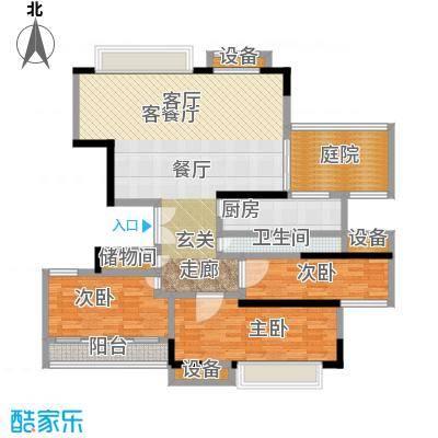 翠屏国际城户型3室1厅1卫1厨