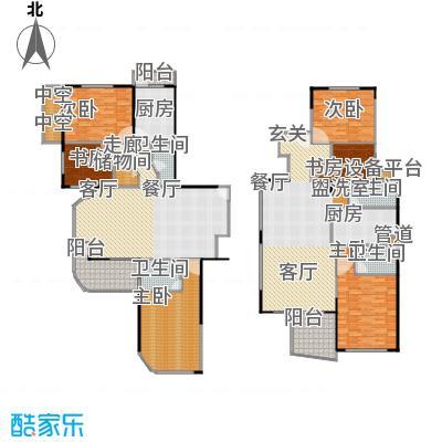 上青佳园113.74㎡房型: 三房; 面积段: 113.74 -145.87 平方米; 户型