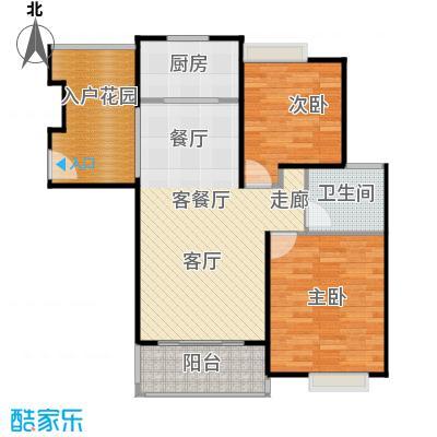 华亭荣园一期80.00㎡二房二厅一卫-80-90平米-39套户型