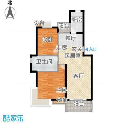月夏香樟林100.00㎡房型: 二房; 面积段: 100 -110 平方米; 户型