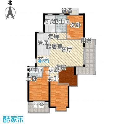 月夏香樟林137.00㎡房型: 四房; 面积段: 137 -139 平方米; 户型