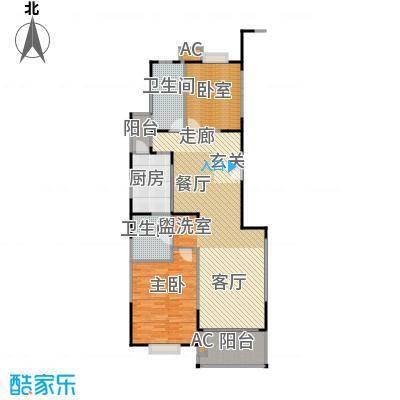 宛平南苑112.00㎡房型: 二房; 面积段: 112 -121 平方米;户型
