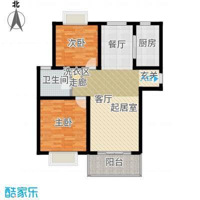 明中龙祥家园89.00㎡二房二厅一卫-89平方米-180套户型