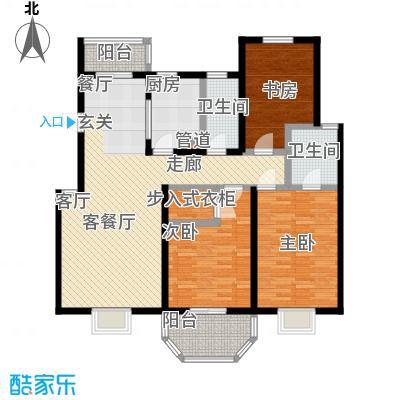 上泰绅苑120.00㎡松江房管(2009)预字0539号-三房二厅二卫-125.73平方米-70套户型