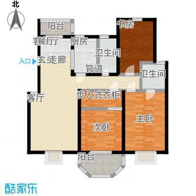 上泰绅苑120.00㎡二房二厅二卫-125.73平方米-45套户型