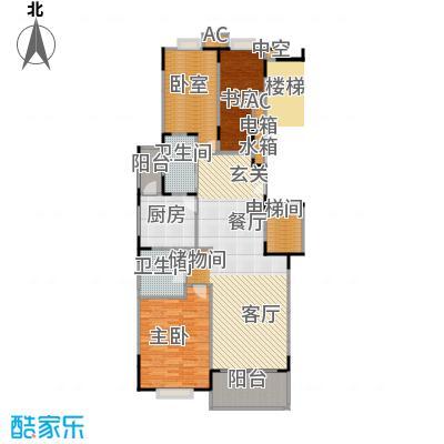 宛平南苑131.00㎡房型: 三房; 面积段: 131 -146 平方米;户型