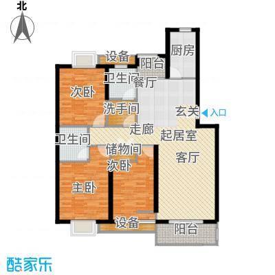 月夏香樟林119.00㎡房型: 三房; 面积段: 119 -146 平方米; 户型