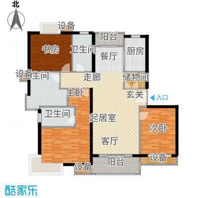 月夏香樟林145.00㎡房型: 四房; 面积段: 145 -145 平方米; 户型