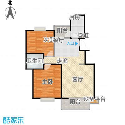 书香银苑87.00㎡房型: 二房; 面积段: 87 -96 平方米; 户型