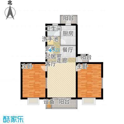 万佳苑95.38㎡房型: 二房; 面积段: 95.38 -108.2 平方米; 户型