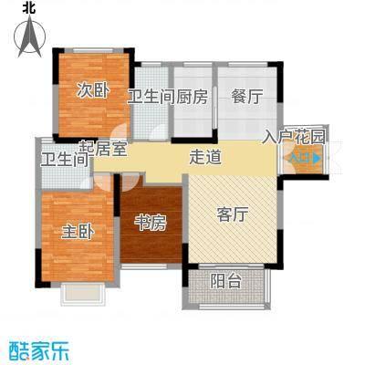 中祥玖珑湾113.53㎡户型10室