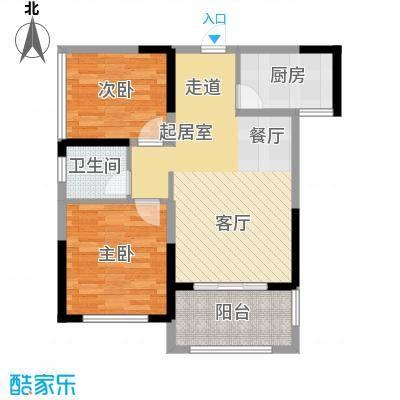 中祥玖珑湾70.05㎡B2/C1-2户型10室