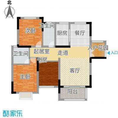 中祥玖珑湾113.07㎡B1户型10室