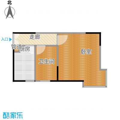 银星名庭45.00㎡房型: 一房; 面积段: 45 -45 平方米; 户型