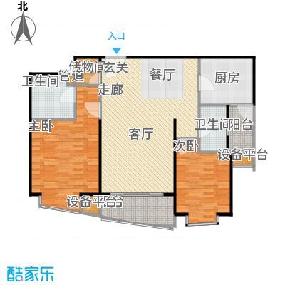 莱诗邸102.00㎡房型: 二房; 面积段: 102 -102 平方米; 户型