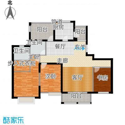 弘阳尊邸141.00㎡6#7#C户型3室2厅2卫