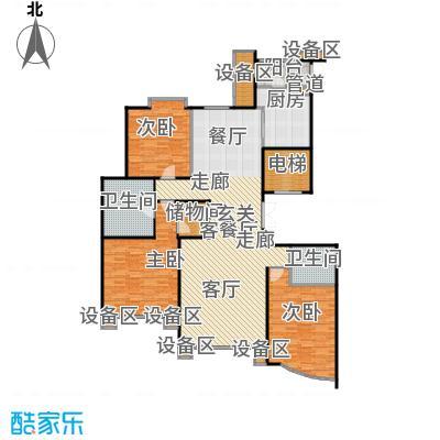 丰泰世纪公寓169平米三房两厅两卫双南户型