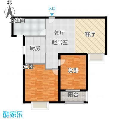 商丘圣地亚哥2室2厅1卫