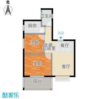 凯旋名都2室1厅1卫