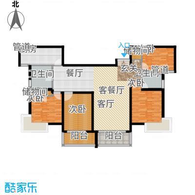 泰宸舒庭151.75㎡房型: 四房; 面积段: 151.75 -151.75 平方米;户型