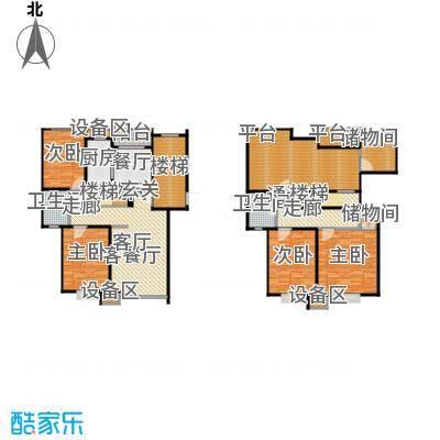 新月丽苑168.00㎡房型: 复式; 面积段: 168 -189.14 平方米;户型