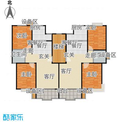 新月丽苑96.00㎡房型: 二房; 面积段: 96 -106.42 平方米;户型