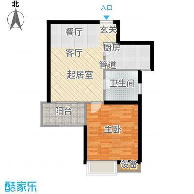 天山怡景苑一房一厅一卫 61-65平方米 29套户型
