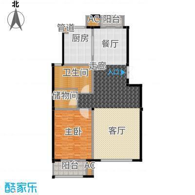 南郊别墅二期房型: 叠加别墅; 面积段: 176 -192 平方米; 户型