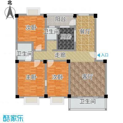 合顺景苑户型3室1厅3卫1厨