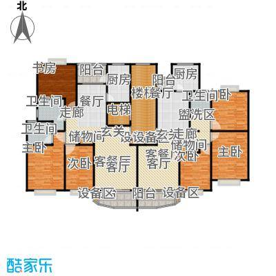 陆家嘴新景园114.38㎡房型: 三房; 面积段: 114.38 -128.61 平方米; 户型