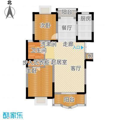 明丰世纪苑98.00㎡房型: 二房; 面积段: 98 -100.94 平方米; 户型