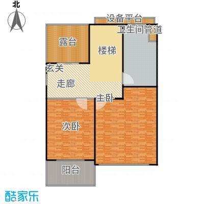 生茂养园221.00㎡C户型二层5室4厅3卫1厨户型