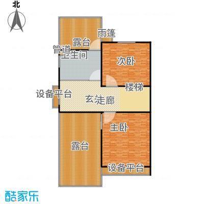 生茂养园230.00㎡D户型二层4室4厅3卫1厨户型