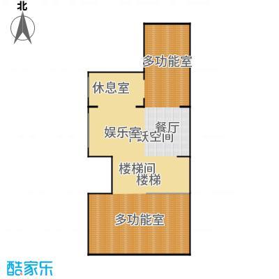 生茂养园260.00㎡B户型地下室5室4厅3卫1厨户型