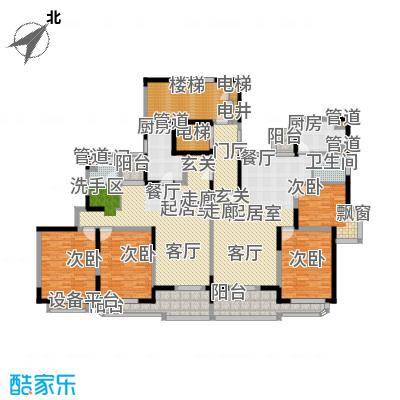 盛族家园97.00㎡房型: 二房; 面积段: 97 -133.51 平方米;户型