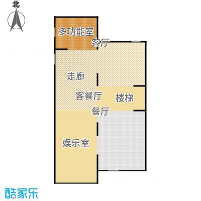 生茂养园230.00㎡D户型地下室4室4厅3卫1厨户型