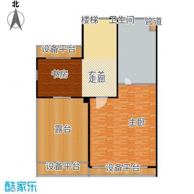 生茂养园221.00㎡C户型三层5室4厅3卫1厨户型