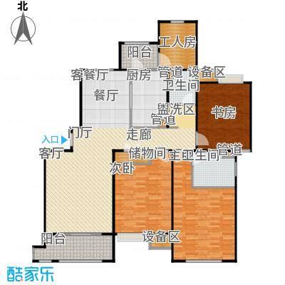 富顿街区13号3+1房,面积:145平方左右户型