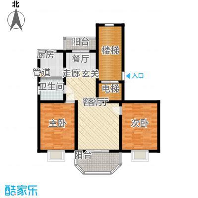 上泰绅苑100.00㎡二房二厅一卫-104.46平方米-27套户型