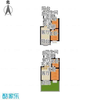 纯翠上南77.92㎡房型: 二房; 面积段: 77.92 -99.09 平方米; 户型