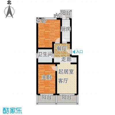 乐业公寓85.00㎡房型: 二房; 面积段: 85 -107 平方米;户型