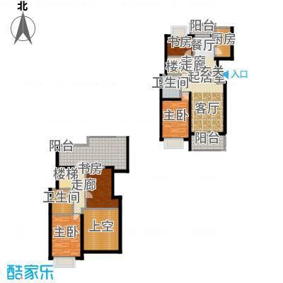 新空间家园153.60㎡复式_3户型