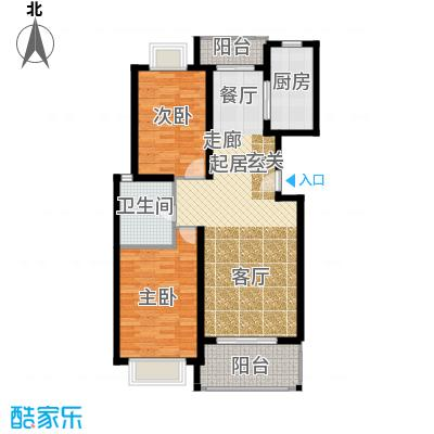 新空间家园94.20㎡二房_1户型