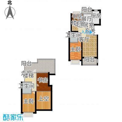 新空间家园144.40㎡复式_2户型