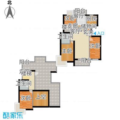 新空间家园153.60㎡复式_2户型