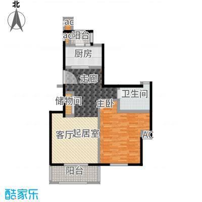 证大家园(三期)87.00㎡房型: 一房; 面积段: 87 -87 平方米;户型