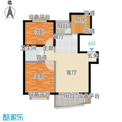 维多利华庭94.82㎡房型: 二房; 面积段: 94.82 -94.82 平方米; 户型