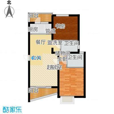 上南春天苑88.00㎡房型: 二房; 面积段: 88 -101 平方米; 户型