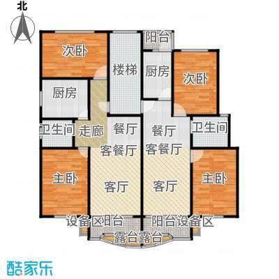 荣鑫公寓123.00㎡房型: 三房; 面积段: 123 -123 平方米; 户型