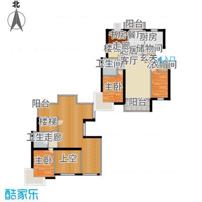新空间家园153.60㎡复式_4户型